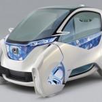 Auto del futuro Honda Micro Commuter