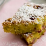 Torta zucchine e lamponi… dolce e salato in felice matrimonio!