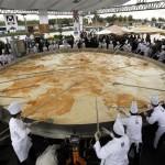 Piatti da Record: la frittata più grande del mondo