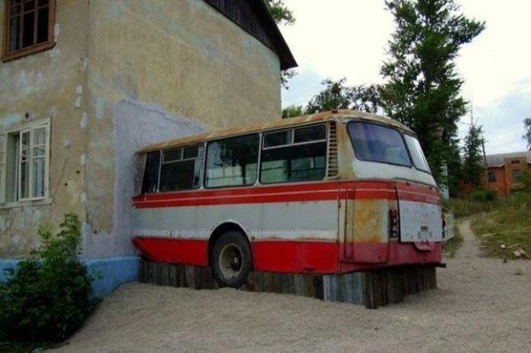 Dalla Russia: autobus