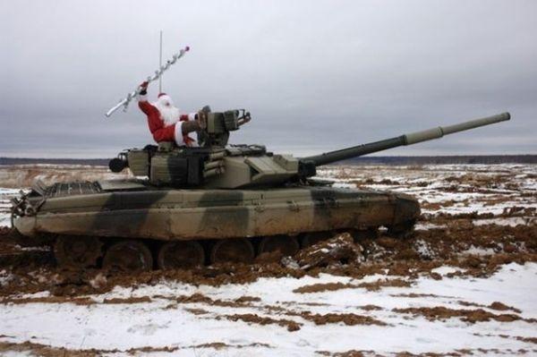 Dalla Russia: Babbo Natale