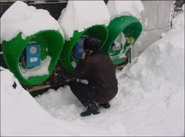 Dalla Russia: cabina telefonica