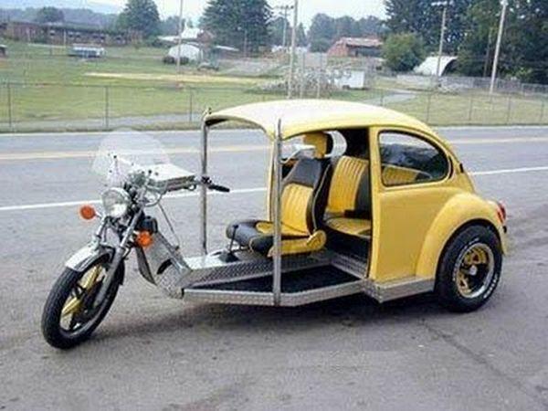 auto a metà: auto-moto