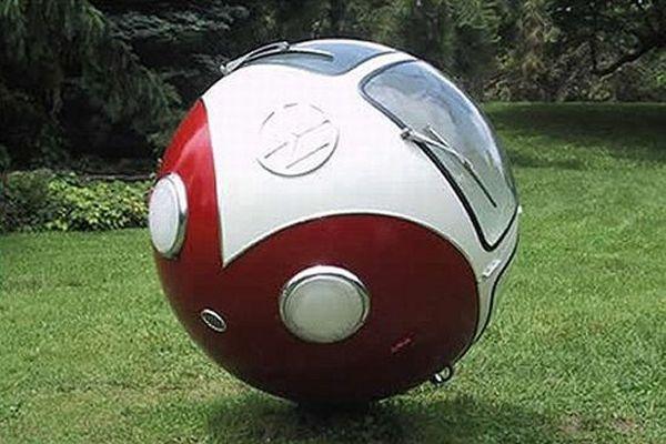 Auto multifunzione: palla