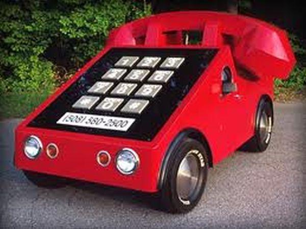 Auto multifunzione: telefono