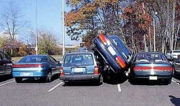 bad parking: una sull'altra