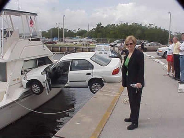 bad parking: parcheggio su barca
