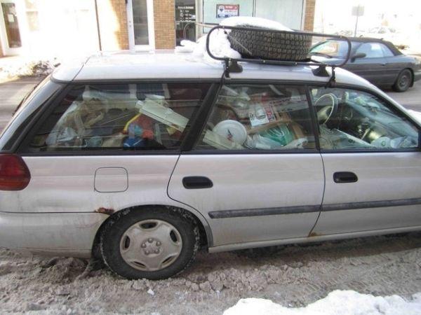 auto disordinata neve