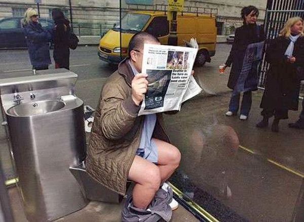 Bagno di specchi Londra