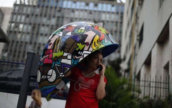 cabina San Paolo: pop-art
