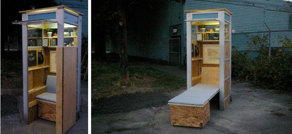 cabina-senzatetto Vancouver
