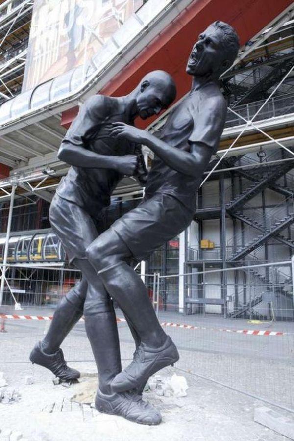 statua Zidane 3