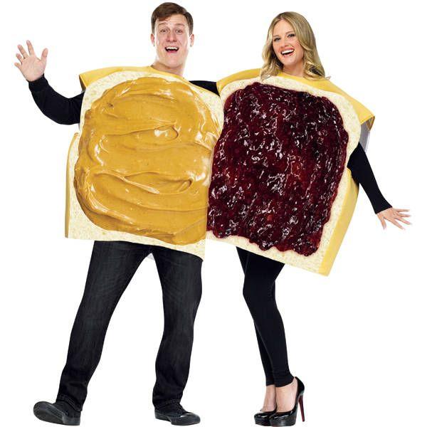 Costume fette di pane spalmate