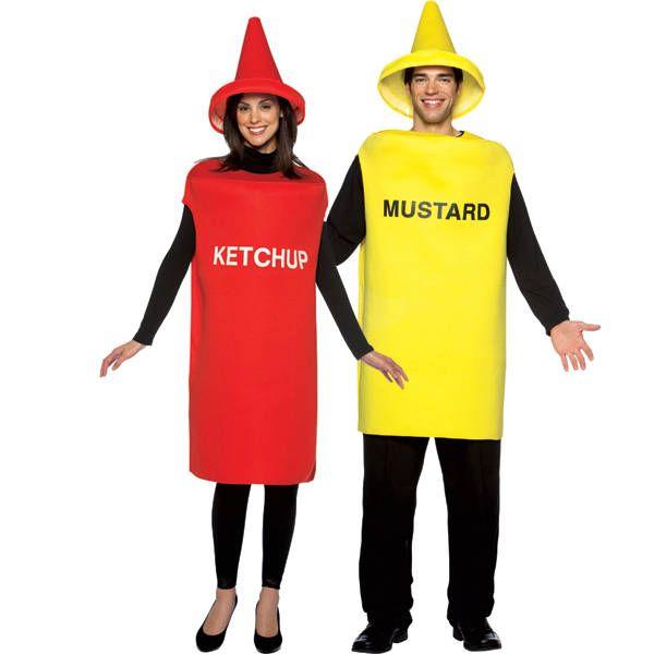 Costume ketchup e senape