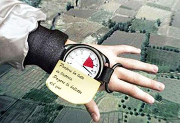 Parodia Baumgartner orologio