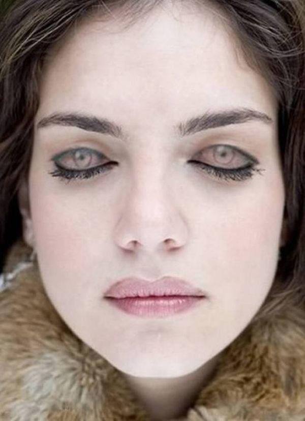 Tatuaggi palpebre: occhi ragazza