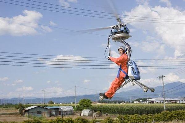 L'elicottero più piccolo del mondo