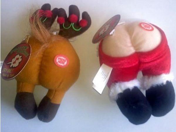 Palle con renne e Babbo Natale