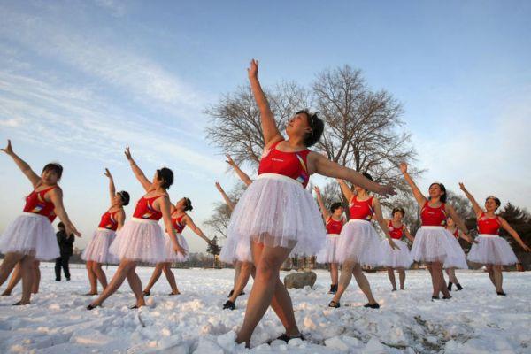 Balletto nuotatrici cinesi febbraio 2012