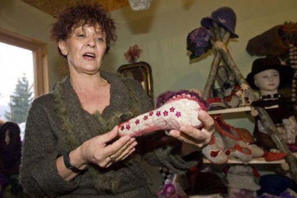 Radmila Kus con lo scaldapene