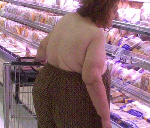 Spesa donna sovrappeso