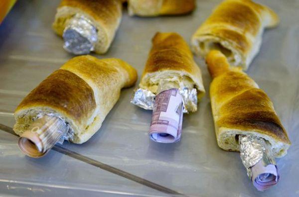 Cornetti con euro
