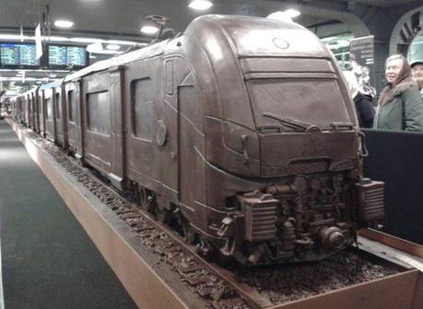 Treno di cioccolato 1