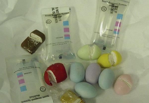 Uova con cocaina