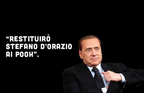 Berlusconi restituisce ai Pooh