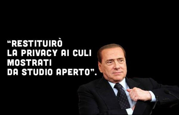 Berlusconi restituisce privacy