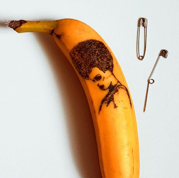 banana afro