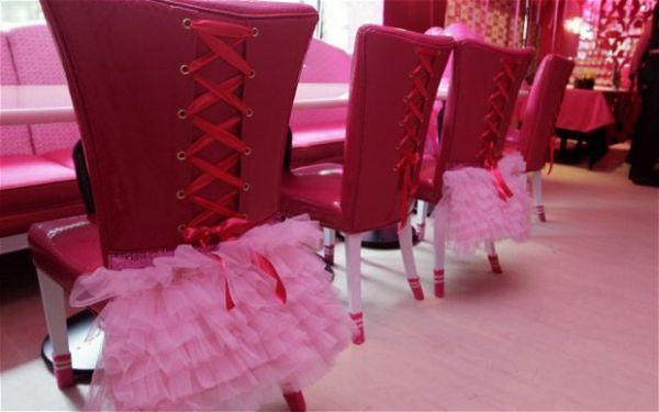 Barbie Cafe sedie
