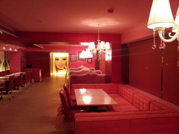 Barbie Cafe interno