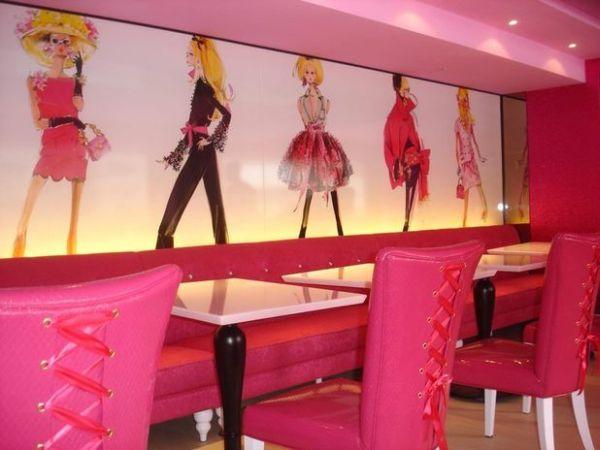 Barbie Cafe tavoli