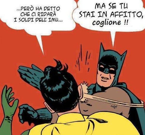 Batman sull'imu