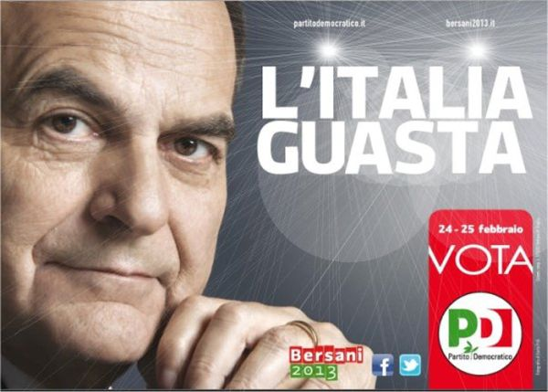 Bersani Italia Guasta
