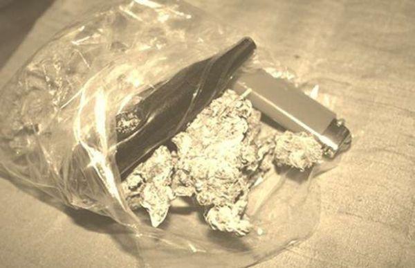 Busta marijuana smarrita