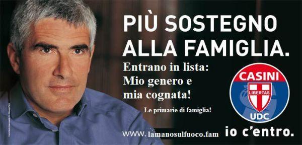 Casini sostiene la famiglia