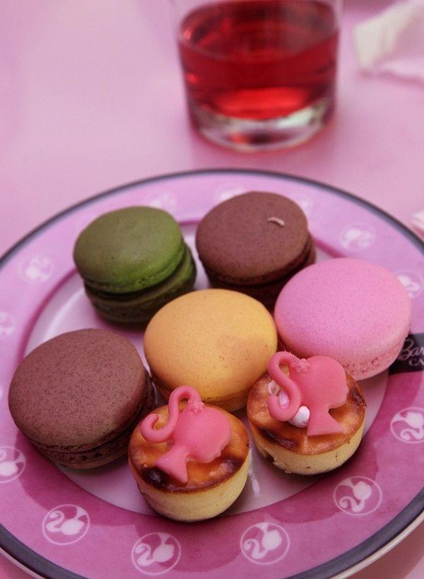 Macarons di Barbie