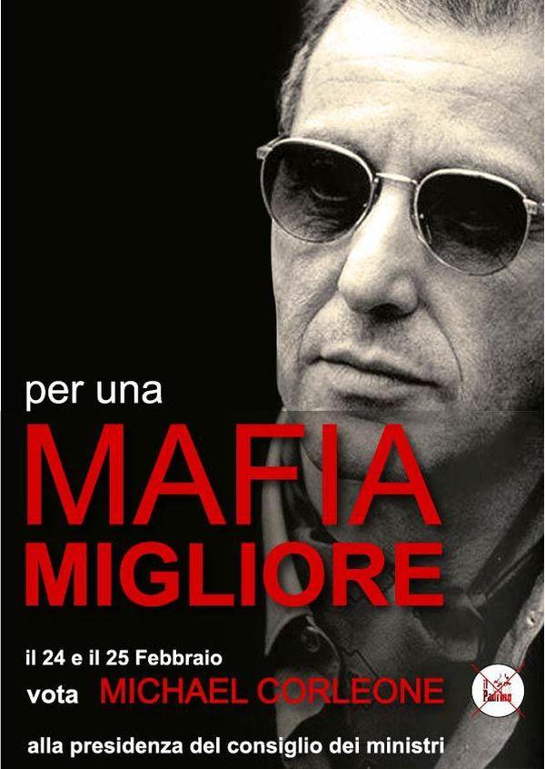 Manifesto Corleone Al Pacino