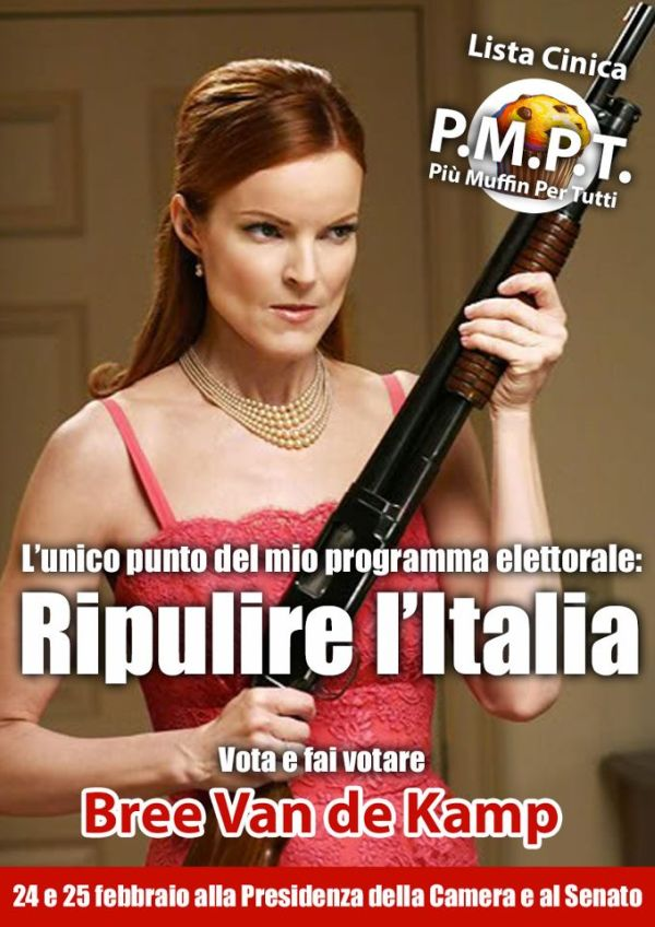 Manifesto Desperate Housewives