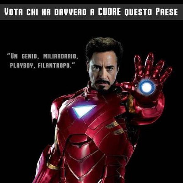 Manifesto Iron Man