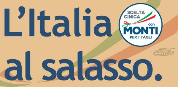 Monti: Italia al salasso