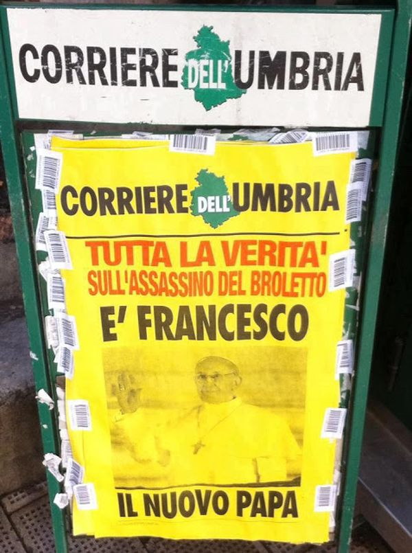 Cover Corriere dell'Umbria