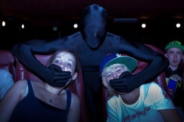Ninja al cinema