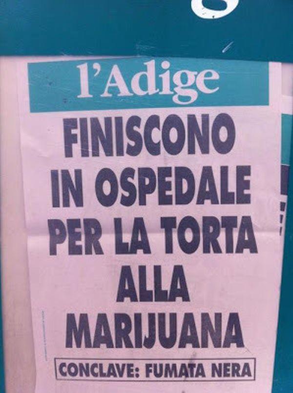 L'Adige: notizie fumate