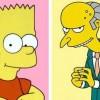 Bart Simpson e Mr. Burns
