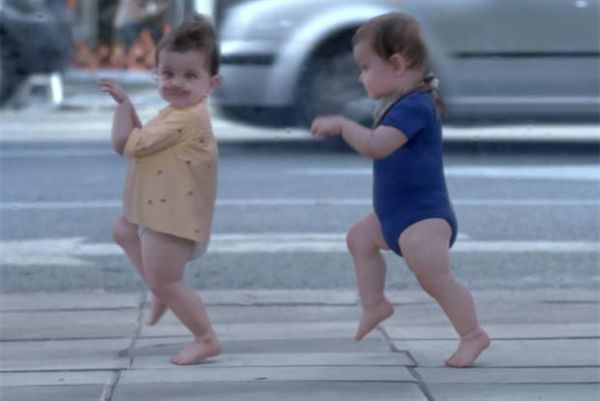 Evian: Baby & me