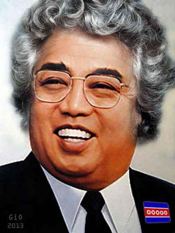 Grillo-Kim-II-Sung