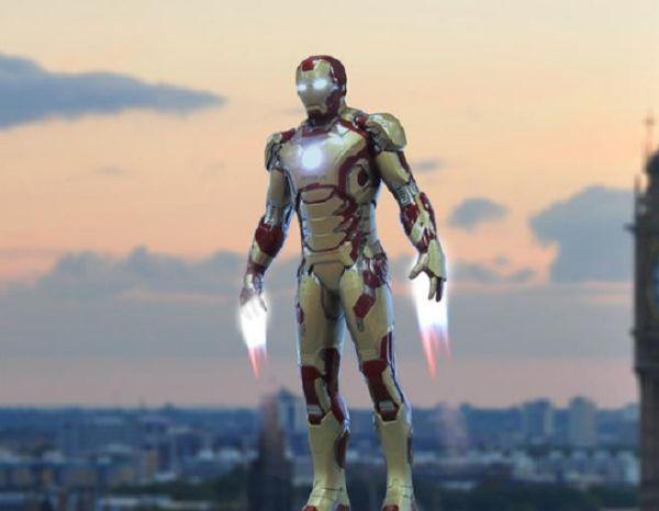 Tuta Iron Man per volare